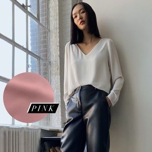 BABATON Murphy Blouse in Muted Pink